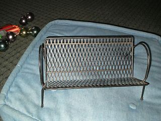 ATOMIC Modern Metal Mesh Desk Organizer Book Shelf CD Record Holder