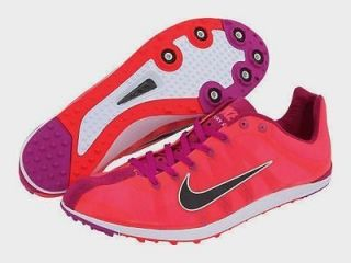 12 NIKE Zoom Victory XC Cross Country Solar Red Track Spikes Shoes