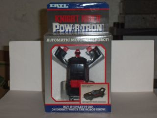 ERTL 1985 KNIGHT RIDER POWERTRON TRANSFORMER PLASTIC ROBOT KITT CAR