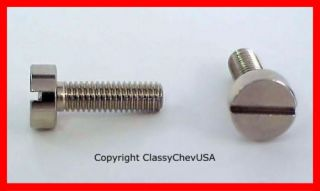 1939 46 Chevrolet GMC TRuck Door Handle SCREWS 2pc