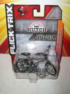 Flick Trix Trick Star CHROME RARE BMX Hutch Bike CHASE Variant Judge