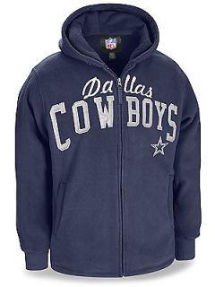 Dallas Cowboys NFL Football Zip Up Hoodie Size Medium