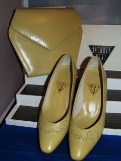 JACQUES VERT vintage CLASSIC SHOE & BAG SET UK 5 EU 38