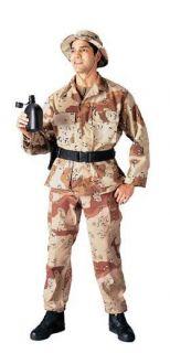 New Propper Desert Camo Military BDU 100% Cotton Ripstop Pants