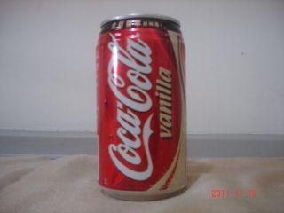 Coca Cola Taiwan 2003 Vanilla Can empty 355ml