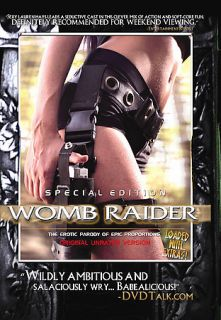 Womb Raider DVD, 2005, Unrated Version