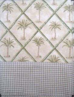 palm tree valance in Curtains, Drapes & Valances