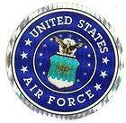 United States Air Force 3 Round Seal Sticker/Decal