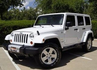 Jeep : Wrangler Unlimited Sahara Sport Utility 4 Door 11 JEEP WRANGLER