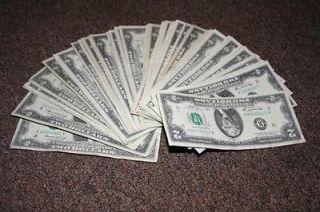 100) various FRB 1976 $2 Two Dollar Bills Notes