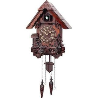 Cuckoo Clocks   German Black Forest Kassel Cuckoo Wood Wall Clock