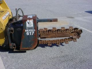 skid steer trencher in Heavy Equip. Parts & Manuals