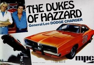 of HAZZARD GENERAL LEE Dodge Charger MPC MODEL KIT MPC706 125 scale