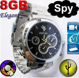 spy camera watch in Jewelry & Watches