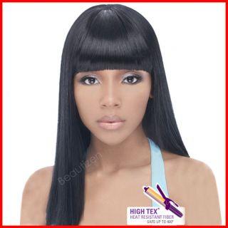 Outre Quick Weave Heat Resistant Fiber Complete Cap Wig BRIE