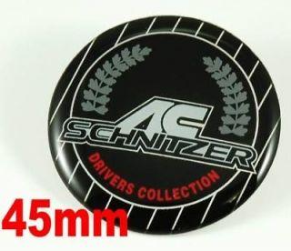45mm AC SCHNITZER Steering Wheel Emblem Badge Logo Sticker fo BMW 1 3