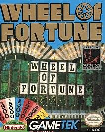 Wheel of Fortune Nintendo Game Boy, 1990