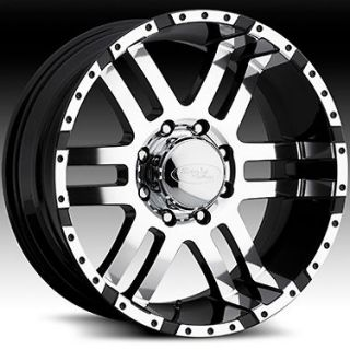 American Eagle 079 wheels rims, 17x9, Fits CHEVY GMC DURAMAX 2500