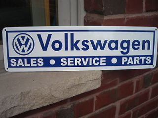 Newly listed Volkswagen Parts Service Garage Sign VW Bus Bug Bettle 63
