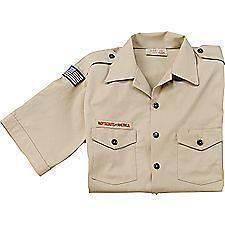 Boy Scout Webelos Uniform Shirt Youth Adult Women S M L XL 2X 3X 4X