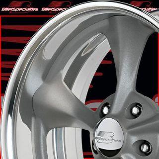 X15 BILLET SPECIALTIES GRAY DAGGER G CAMARO GTO CHEVELLE RIMS WHEELS