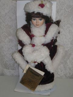 16 inch Seymour Mann Connoisseur Collection Porcelain Doll Anna