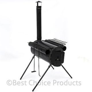 Military Camping Steel Wood Stove Tent Heater for Fishing Camp Cooking