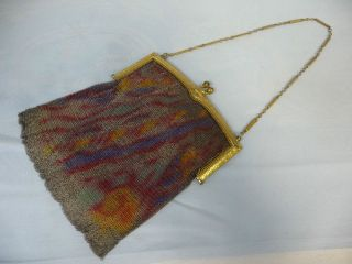 whiting davis mesh purse in 1920 38 (20s, Depression)