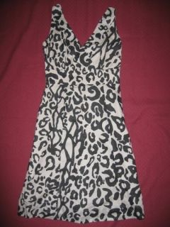 NWOT Beautiful wild animal print ESPRIT dress XS 0 4 32 34