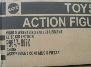 Wwe Action Figure Elite 17 Factory Sealed Case 8 Pieces Kelly Foley