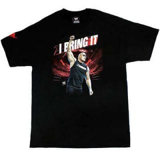 wwe the rock t shirt in Sports Mem, Cards & Fan Shop