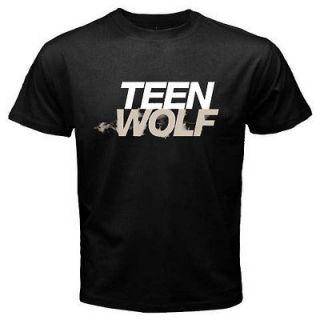 TEEN WOLF SDCC CON 2011 T SHIRT BLACK SIZE S,M,L,XL,XXL,3XL,4XL 5XL