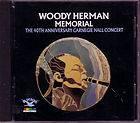 WOODY HERMAN Memorial 40th Anniversary Carnegie Hall Concert Oop CD