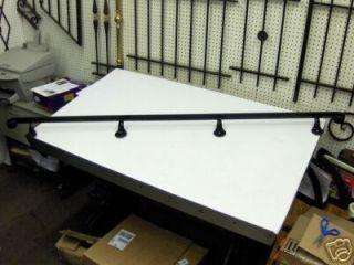 wrought iron wall hand rail railing rails steel