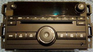 RADIO GMC EXPRESS VAN SILVERADO 07 12 XM RADIO AUX REAR IPOD/