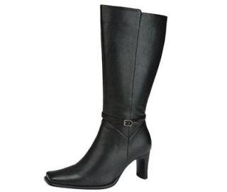 Women High Heel Dress comfy work Shoes knee high boots