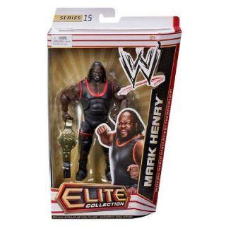 MARK HENRY WWE MATTEL ELITE SERIES 15