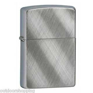DIAGONAL WEAVE AUTHENTIC ZIPPO LIGHTER   Made in USA