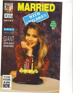 BUNDY Now comics ad page ~ Married With Children, Christina Applegate