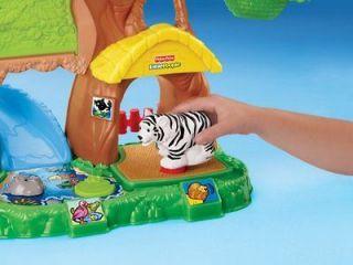 Price Little People Zoo Talkers Animal Sounds Zoo Train Kids Fun toys