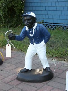 black lawn jockey in Black Americana