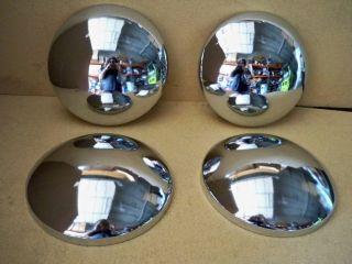 10 INCHE CENTER CAPS HOT ROD RAT ROD VINTAGE MOONSHINE