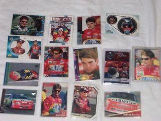 170 rare Jeff Gordon nascar racing cards insert, numbered tire, piece