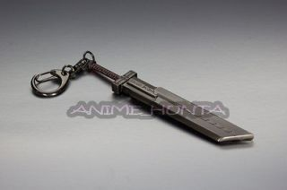 Final Fantasy 7 Cloud Strife Metal Sword Key Chain