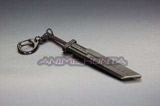 Final Fantasy 7 Cloud Strife Metal Sword Key Chain