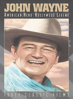 John Wayne   American Hero, Hollywood Legend 3 Pack DVD, 2003