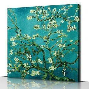 paint by numbers 16*20 kit DIY painting Van Gogh Almond Blossom #5