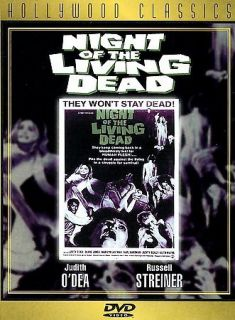 Night of the Living Dead (DVD, 1998, Hollywood Classics)