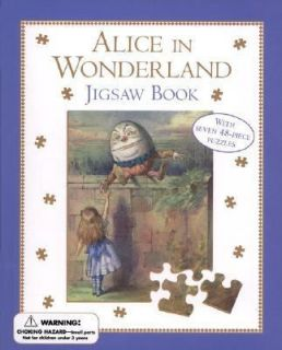Alice in Wonderland Jigsaw Book by Lewis Carroll 2000, Mixed Media