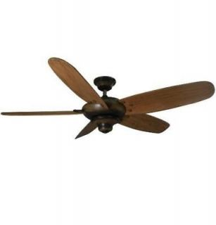 Hampton Bay Altura 56 Ceiling Fan Espresso w/ Hand Carved Blades